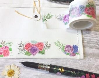 Hydrangea Washi Tape • Flower Washi Tape (186929)