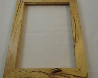 9x12 Spalted Maple Picture Frame LS1
