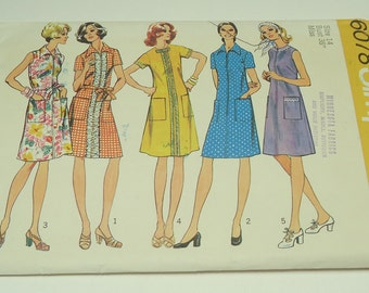 Simplicity Misses' Dress Pattern 6078 Size 14