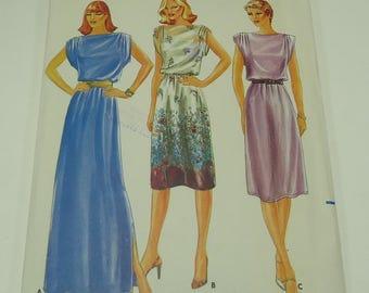 Butterick Misses' Dress Pattern 3790 Size 12