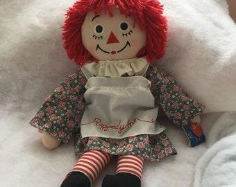 Vintage Raggedy Ann, 85th anniversay , rag doll, 25 inch