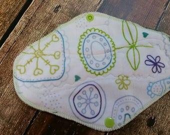 9 Inch Kinder Minky Cloth Pad Regular