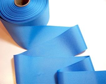 Blue Ribbon,  True Blue Grosgrain Ribbon 3 inches wide x 3 Yards