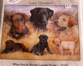 Dog Black Lab Counted Cross Stitch Kit New Unopened