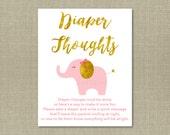Cute Elephant Diaper Thou...