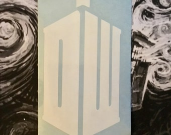 Doctor Who Inspired Tardis DW Car, Laptop, or Decor Vinyl Decal