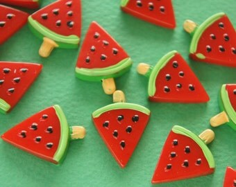 8 pcs Watermelon Ice Candy Bar Cabochon (17mm23mm) CD588