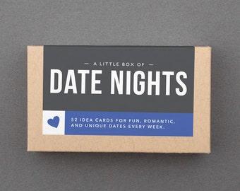 "52 Date Night Idea Cards. Fun Date Ideas. Romantic Date Night. Date Jar Activities. Wedding, Anniversary Gift. ""Great Dates"" (L5DAT)"