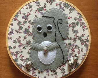 grey squirrel hoop