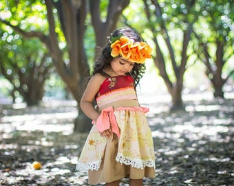 Moana costume, Moana dress, Moana birthday, Moana birthday party, Moana outfit, princess Moana, princess dress