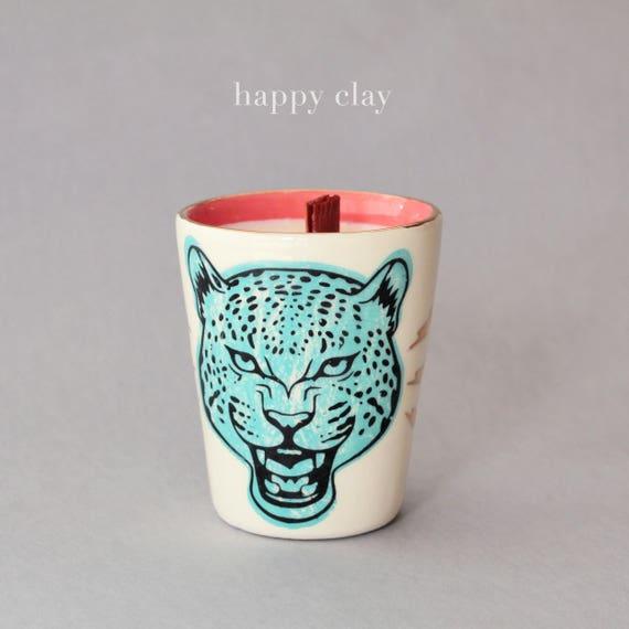 Pussy Grabs Back 100% soy candle in Firewood