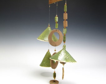 Jade Green Wind Chime