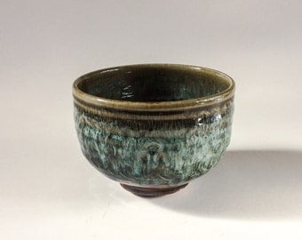 Great Small Serving Bowl - Handmade Stoneware Pottery Clay Bowl - Microwave and Dishwasher Safe - Ready to Ship - 3.5 x 5 - WF-IB-5
