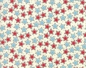 Fabric Sale! Treehouse - Red/Blue Star Print Fabric