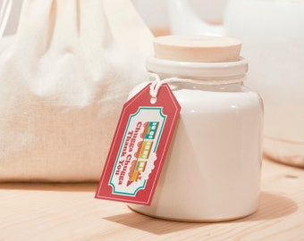 INSTANT DOWNLOAD (Digital) Train Favor Tag - Chugga Chugga Thank You - Perfect for your little conductor's favors in bright colors