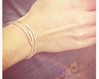 Pair of Sterling Silver Bonnie Bracelets