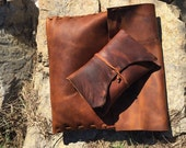 Rugged Wrap Leather Clutch II