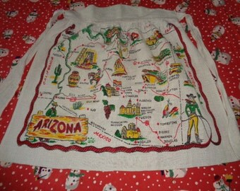 Vintage Arizona Apron