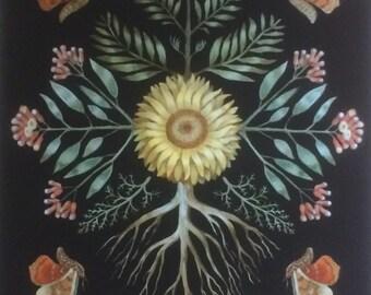 Sunflower Wisdom Print