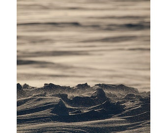 "Snow Photograph - North Dakota - Winter Photograph - Neutral Decor - Landscape Photograph - Art Print - Wall Art - Photo Print - ""Snow Dune"""