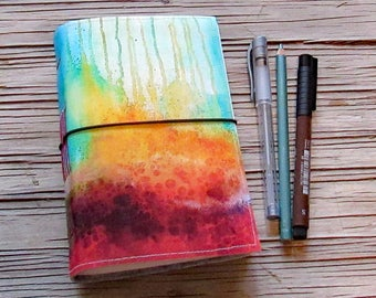 Burn Journal - original art cover vacation life graitutde change journal - tremundo