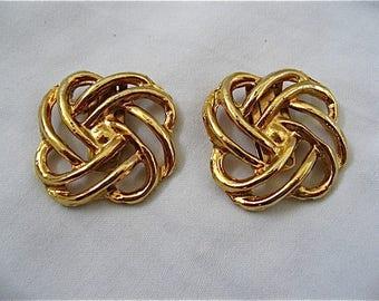 Vintage Gold Bluette Shoe Clips