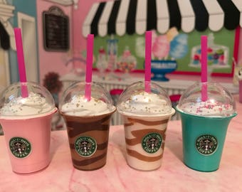 Starbucks drinks for your American Girl doll, Frappuccino