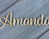 "2"" Laser Cut Names for Wedding  - Wedding Place Cards, Personalized Names Rustic Decor for Wedding, Name Cards Wedding"