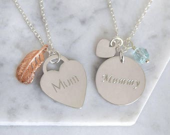 Mum Charms Necklace