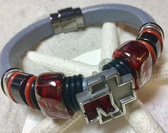 Rammstein Leather Braceket