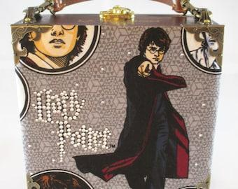 Harry Potter Cigar Box Purse, Box Purse, Handbag, La Mission 1959 Cigars Item # 630