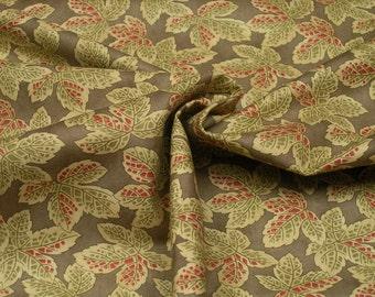 Moda Fabrics Courtyard Stone Blätter 0.54yd (0.5m) 002856