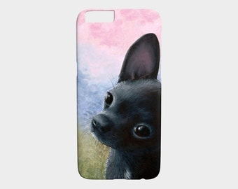 chihuahua iphone etsy. Black Bedroom Furniture Sets. Home Design Ideas