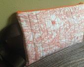 Tangerine Fauna Cosmetic Bag