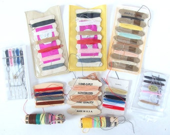 Vintage Travel Mending Kits