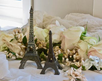 Vintage French Lovely Petite Metal Eiffel Tower's