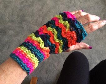 Fingerless glove--B