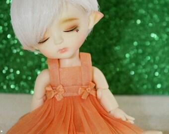 LATI Yellow - Pukifee - Vintage Series - Dress and Bow Hairclip SET - #3