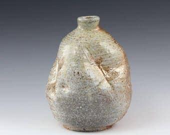 Ceramic Woodfired Bottle Vase