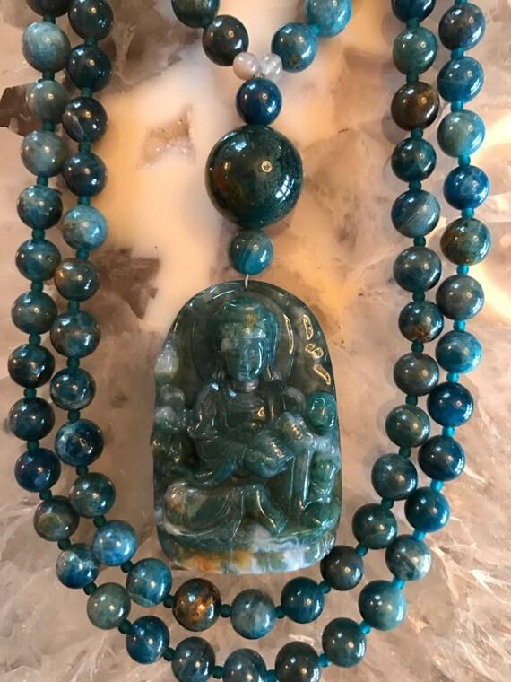 Apatite Mala/Prayer Beads