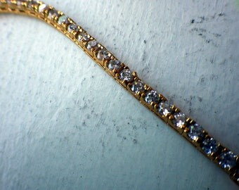 Vermail Tennis Bracelet - Vintage - Excellent condition.