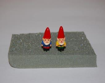 Miniature Gnomes Terrarium or Fairy Garden Decorations