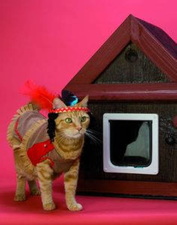 Heated Outdoor Cat House/2 doors(Ships Next Bus. Day),shelter,bed,condo,sanctuary