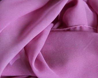"""Valentine Blush Silk Scarf  - 30""""x30"""" Square Scarf - Low Shipping Costs - Great Gift"""