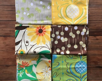 6 Fat Quarters GYPSY by Felicity Miller
