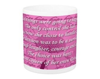 Original Design, Breast Cancer Survivor Mug
