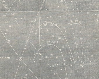 Antique Star Chart - 1856 Astronomy Print - Zodiacal Light - Vintage Print - No. 26