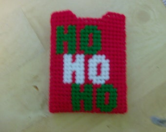 Christmas Gift Card Holder, HO HO HO Gift Card Holder