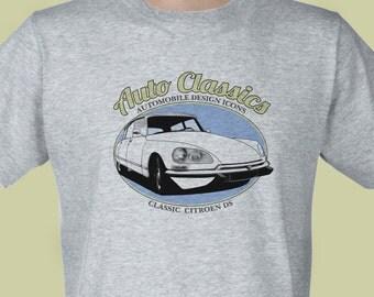 Auto Classics - Classic Citroen DS T-shirt