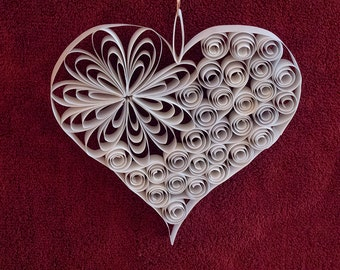 """Quilled Paper Heart: """"Love To You"""""""